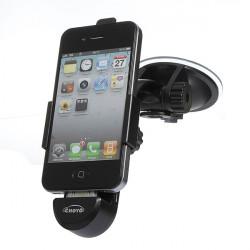 Vridbar Bil Multifunktions USB-laddare Mobiltelefon Hållare för iPhone