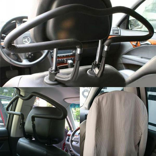 Gummibelagt Bil Seat Nakkestøtte Coat Suit Jakke Bøjle Interiør Styling