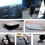 Transparent Non-slip Car Mat Pad Cusion for Phone Pen Glass Coin Car Interior Decoration