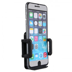 Universal Justerbar Anti-slip Bil Mount Bracket Stativ til iPhone