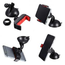 Universal Mini Sugpropp Bil Vindrutestativet Hållare för Telefon
