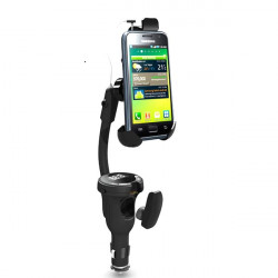 Wireless Earphone Car Cellphone Holder for iPhone Samsung HTC