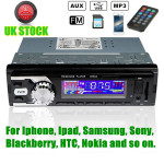 12V Bilstereo Radio Player MP3 USB SD AUX FM för iPod iPhone Non CD GPS Navigation / Tracker