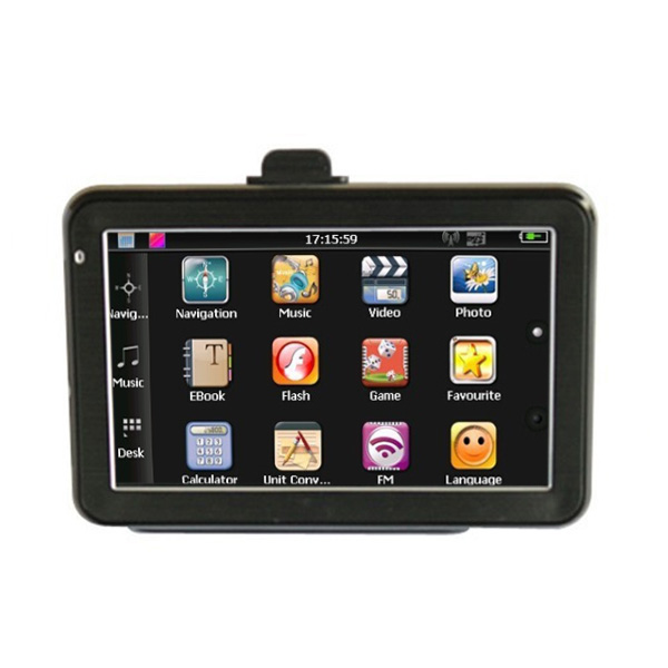 "4.3"" Bil GPS Navigation TFT LCD Touch Screen 800MHz Vindues CE6.0 GPS Navigation & Tilbehør"
