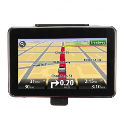 4GB 5 Inch TFT LCD Car GPS Navigation SAT NAV FM Map Free