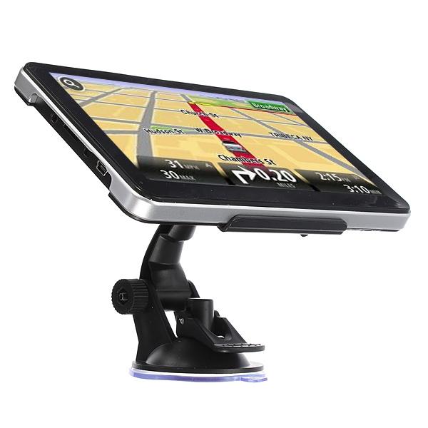 """4GB 7"""" TFT LCD Bil GPS Navigation SAT NAV FM E-bog Free Map GPS Navigation & Tilbehør"""