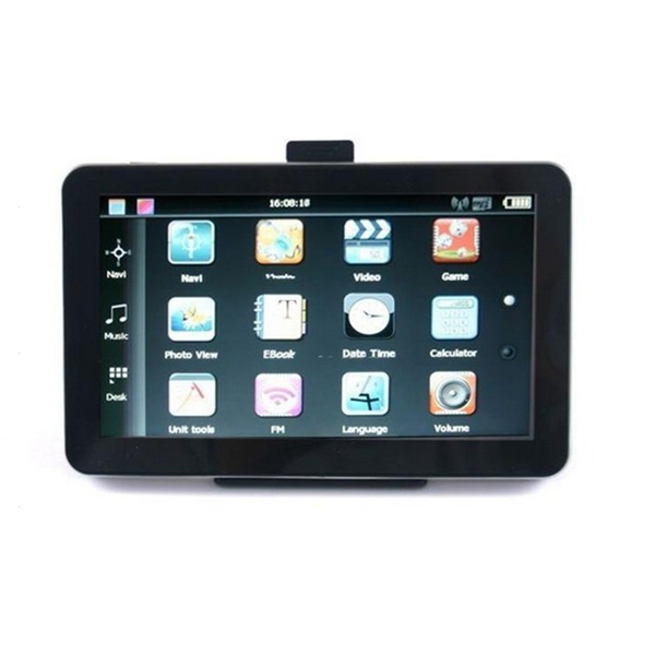5 Inch Car GPS Navigation TFT LCD Touch Screen Windows CE6.0 System GPS & Accessories