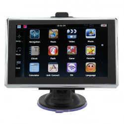 "5"" GPS Navigation AV IN mit Bluetooth Funktion FM 4 GB Speicher"