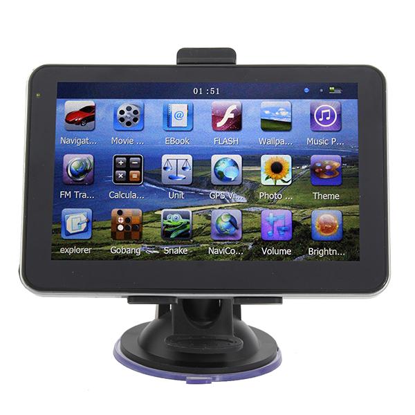 5 Inch HD Touch Screen Car GPS Navigation YL-750 MTK FM 4GB GPS & Accessories
