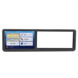 5 Inches HD Display Car Rear View Mirror Navigator GPS Navigation