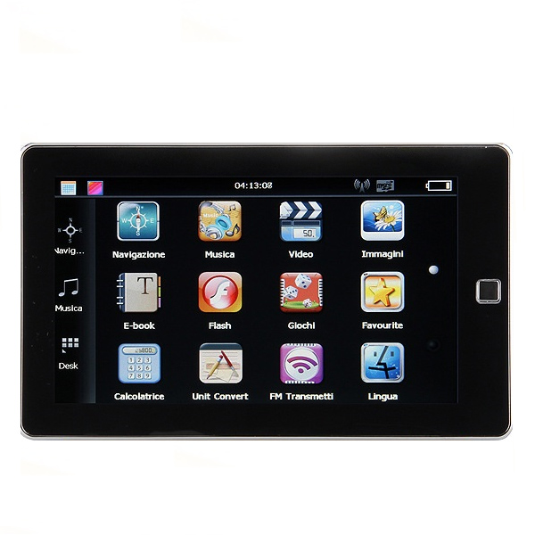 "7"" Bil Auto GPS Navigation TFT LCD Touch Screen MediaTekMT3351 GPS Navigation & Tilbehør"