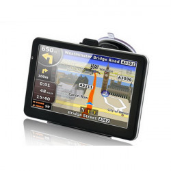 7 Inch Car GPS Navigation TFT LCD Touch Screen Windows CE6.0 System