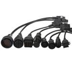 8stk OBDII Auto Diagnosewerkzeug Adapterkabel Pack für Verdichteraustrittsdruck KFZ Diagnosegeräte / Fehlerauslesegerät