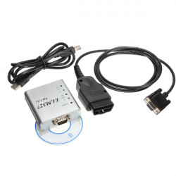 Aluminium USB V1.5 CAN-BUS Bil Diagnostik Interface Scanner