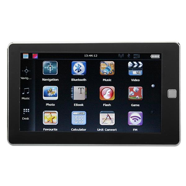 """Bil 7"""" HD Pekskärm GPS Navigation YL-930 BT FM AV MTK GPS Navigation / Tracker"""