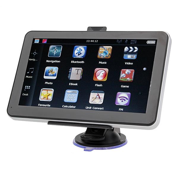 "Bil 7"" HD Pekskärm GPS Navigation YL-950 MTK FM 4GB GPS Navigation / Tracker"