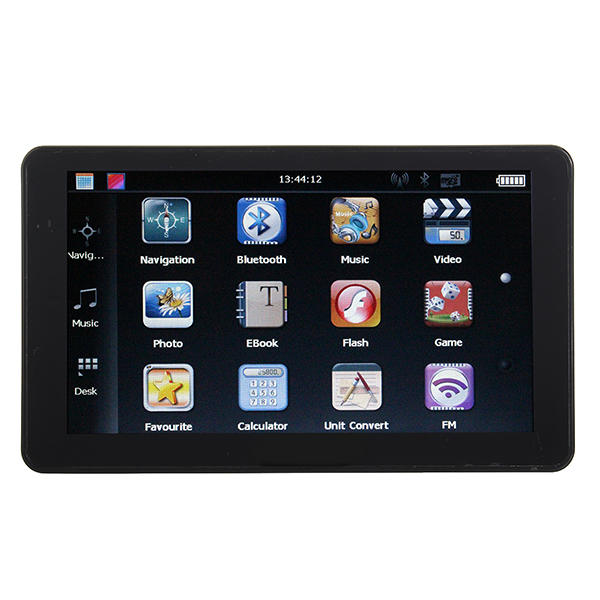 Car 7 Inch Touch Screen GPS Navigator YL-910 MTK and FM 4GB GPS & Accessories