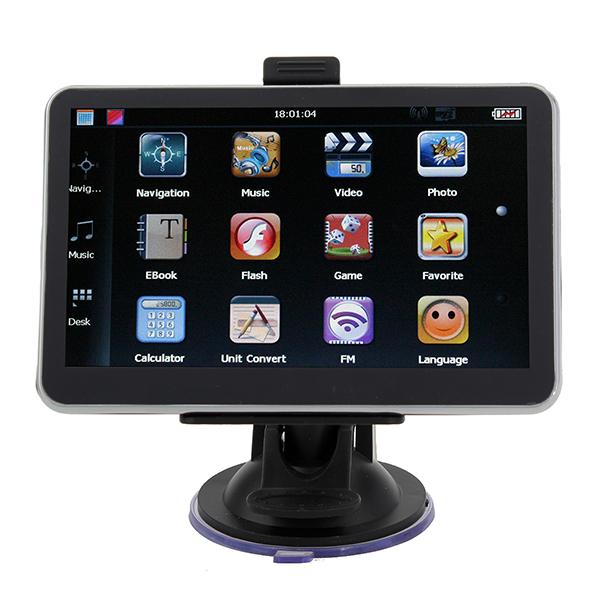 Auto GPS Navigation 5 Zoll HD Touchscreen YL 710 MTK FM AV BT GPS & Zubehör