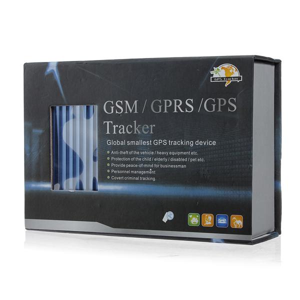Bil GPS System Motorcykel Fordon Global Minsta GSM GPRS Tracker GPS Navigation / Tracker