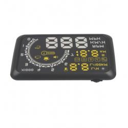 Auto HUD Head Up Display KM / h und MPH Geschwindigkeitsüberschreitung Warnung OBD2 System