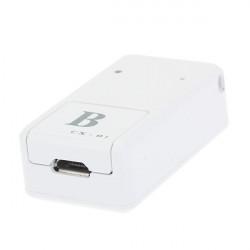 Auto Weiß Small GPS GSM GPRS Tracker CX 01 B mit Ladekabel