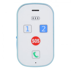 GPS368 Car Alarm GPS & LBS Dual Positioning Waterproof IPX65