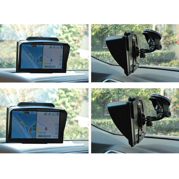 """GPS Universal Parasoll Sunshine Shield för 7"""" Bil GPS Navigator GPS Navigation / Tracker"""