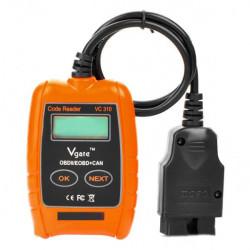 LCD-Bil OBD2 Felkodsläsare OBDII Fordonsdiagnostik Verktyg Scanner VC310