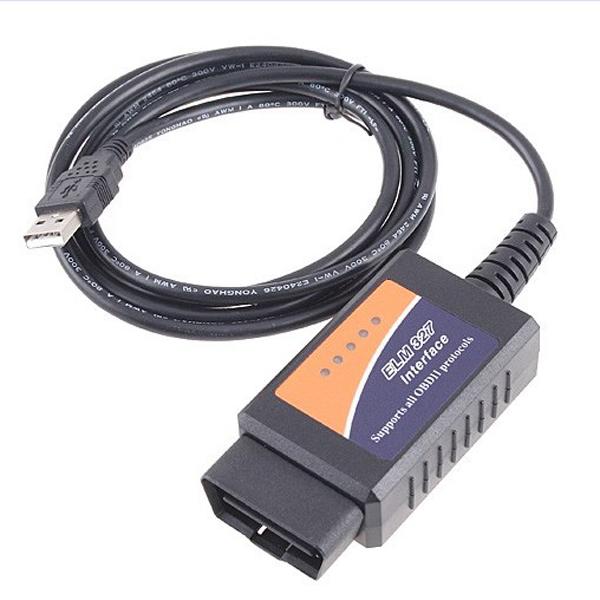 V1.5 ELM327 OBDII Auto Diagnostic USB Interface Code Scanner Reader Diagnostic Scan Tool