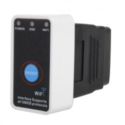 WiFi Mini OBD2 ELM327 Bil Detector Support iPhone iPad Android