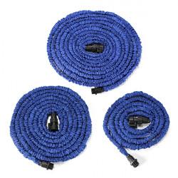 100ft Garden Blue Latex Flexible Portable Anti-Car Telescopic Pipes