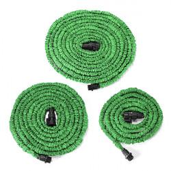 30m Have Grøn Latex Fleksible Bærbar Anti-Car Teleskop Pipes
