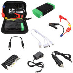 12000mAh Auto Emergency Start Jump Starter Portable Power Bank Charger Backup Car Electronics