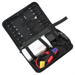 12000mAh Bil Batteriladdare Startkablar Mobiltelefon PowerBank