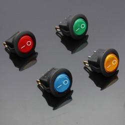 12V 16A Car Boat Rocker Switch ON/OFF SPST LED Lamp Dash