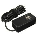 12V / 24V Bil Monitoring Batteri 2 USB 1A 2.1A Port Socket Charger Bil Elektronik