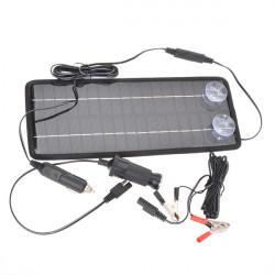 12V 4.5W Poly Silikon Solar Panel Bil Batterioplader til Bil / Lastbil