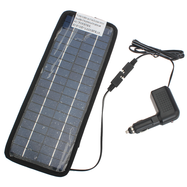 12V 4.5W Solar Power Panel Auto Car Battery Charger Car Electronics