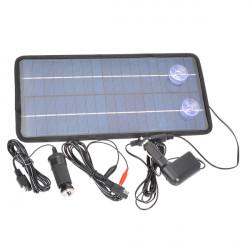 12V8W Poly Silikon Solar Panel Bil Batteriladdare för Bil / Motorcykel