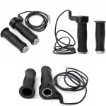 12v 24V 36V 48V Black Electric Scooters Bike Handlebar Throttle Grips Electric Scooters