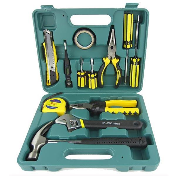 13pcs Car Repair Emergency Kit Combination Tool Automotive Spare Tool Car Repair Tools