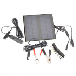 18V 2W Poly Silicon Solar Panel Car Battery Charger For Car/Truck