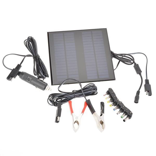 18V 2W Poly Silicon Solar Panel Auto Ladegerät für PKW / LKW Autoelektronik