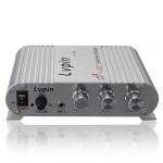 200W 12V Super Bass Mini Hi-Fi Stereoförstärkare Booster Radio MP3 Bilelektronik