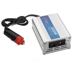 200W AC Bil Power Inverter 12V til 220V Bil Charger