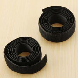 20mmX1m Velcro Sticky Adhesive Hook and Loop Tape Sew Stitch Stick