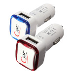 2.1A 2 Porte USB Billader Adapter til iPhone iPad iPhone 5 5S 5C