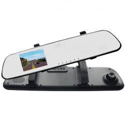 "2,7"" 1080p HD Bil DVR S600 Videokamera Backspegel G-sensor"
