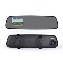 "2.7"" HD-Bilkamera DVR Video Kamera Bakspejl G600"