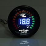 "2 "" 52MM 20 LED Digital Bil Air Fuel Ratio Bildskärm Racing Mätare Bilelektronik"